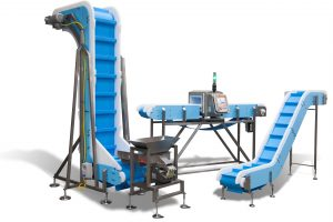 DynaClean-Vertical-Z-with-Feeder_Metal-Detector_Z-Conveyor-300x200 Liquid Filling, Capping, Cap Sealing, Conveying & Labeling