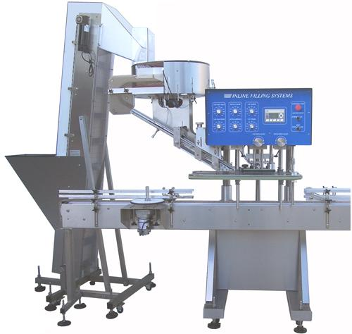 Inline-filling-capper Liquid Filling, Capping, Cap Sealing, Conveying & Labeling