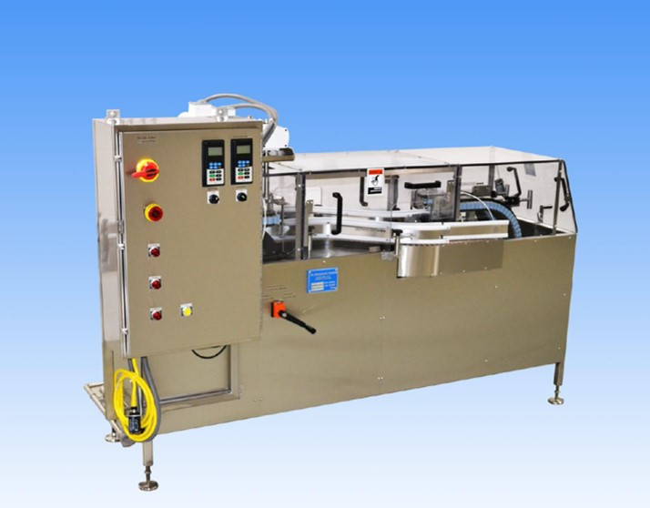 McBrady-machine Liquid Filling, Capping, Cap Sealing, Conveying & Labeling