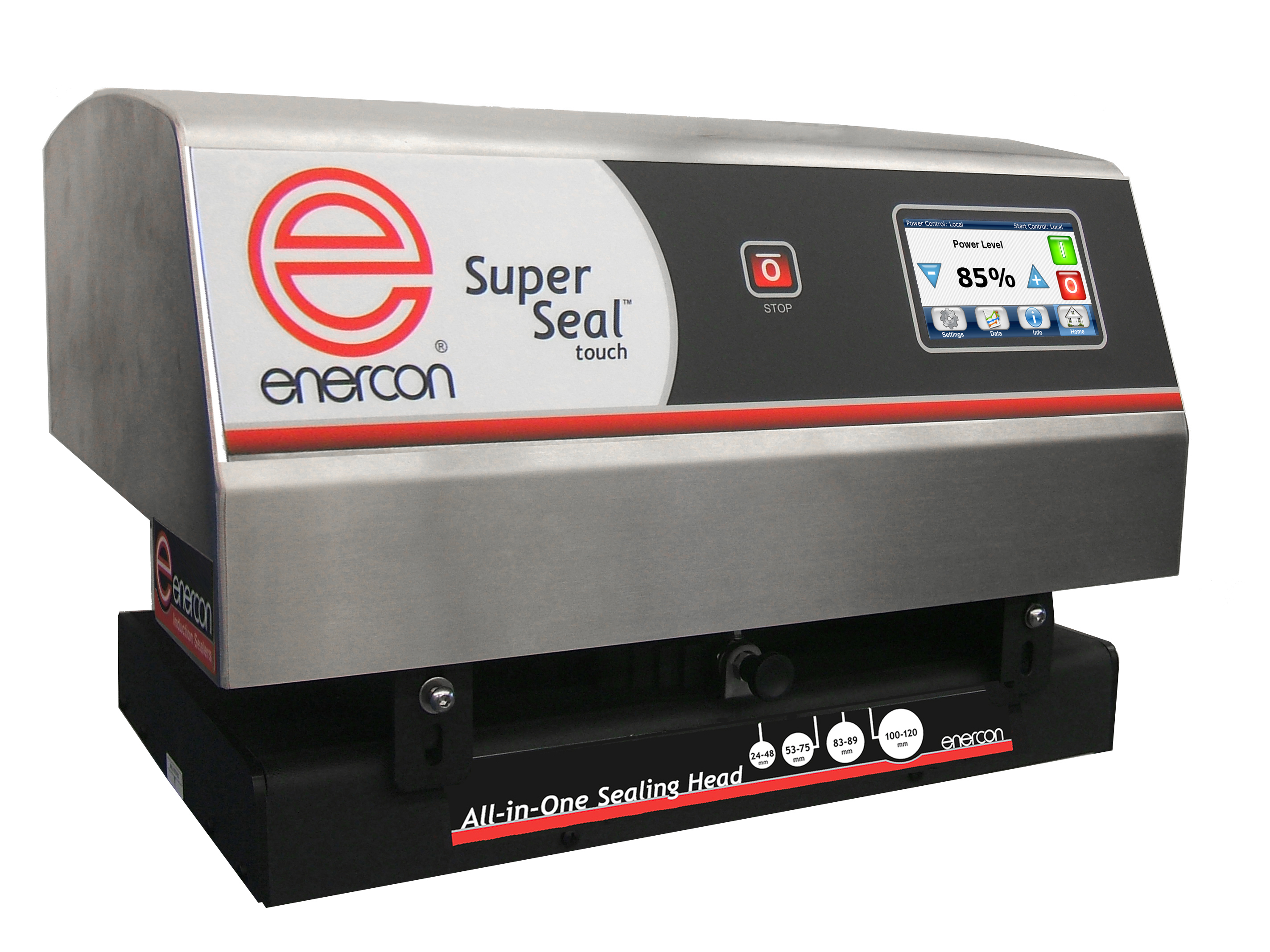 enercon-super-seal-touch Liquid Filling, Capping, Cap Sealing, Conveying & Labeling